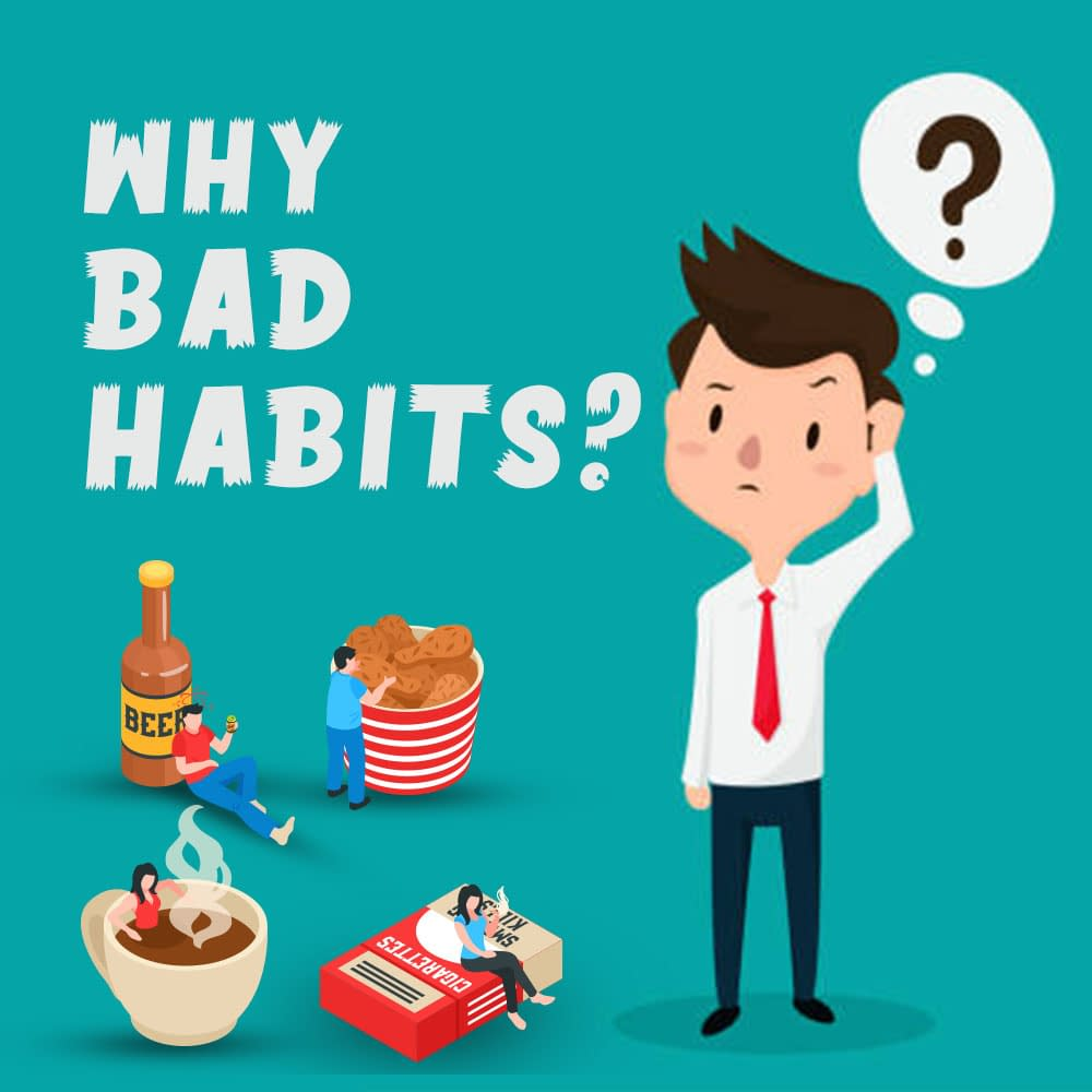 Why do we fall in Bad Habits? Lessons from Bhagavad Gita