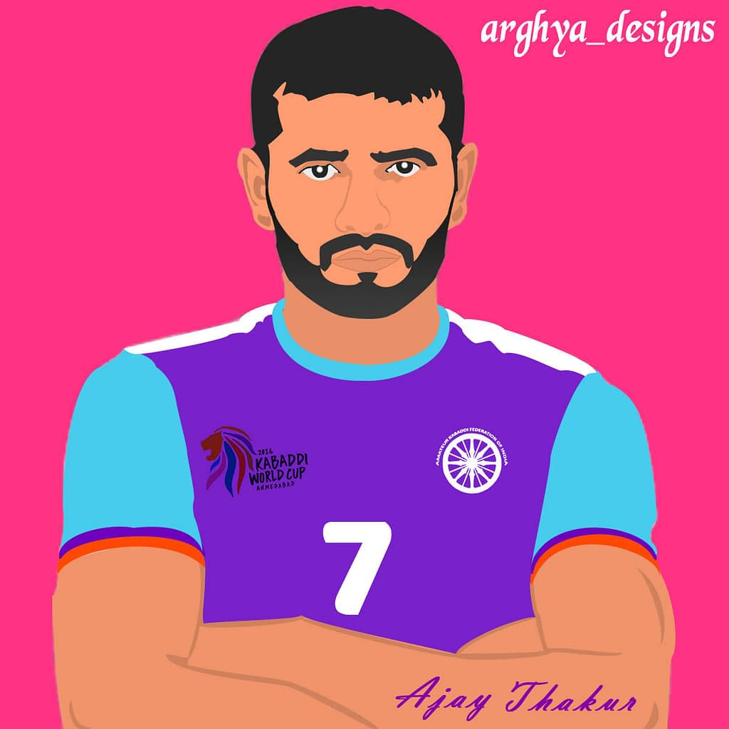 ajay thakur illustration by arghya gorai
