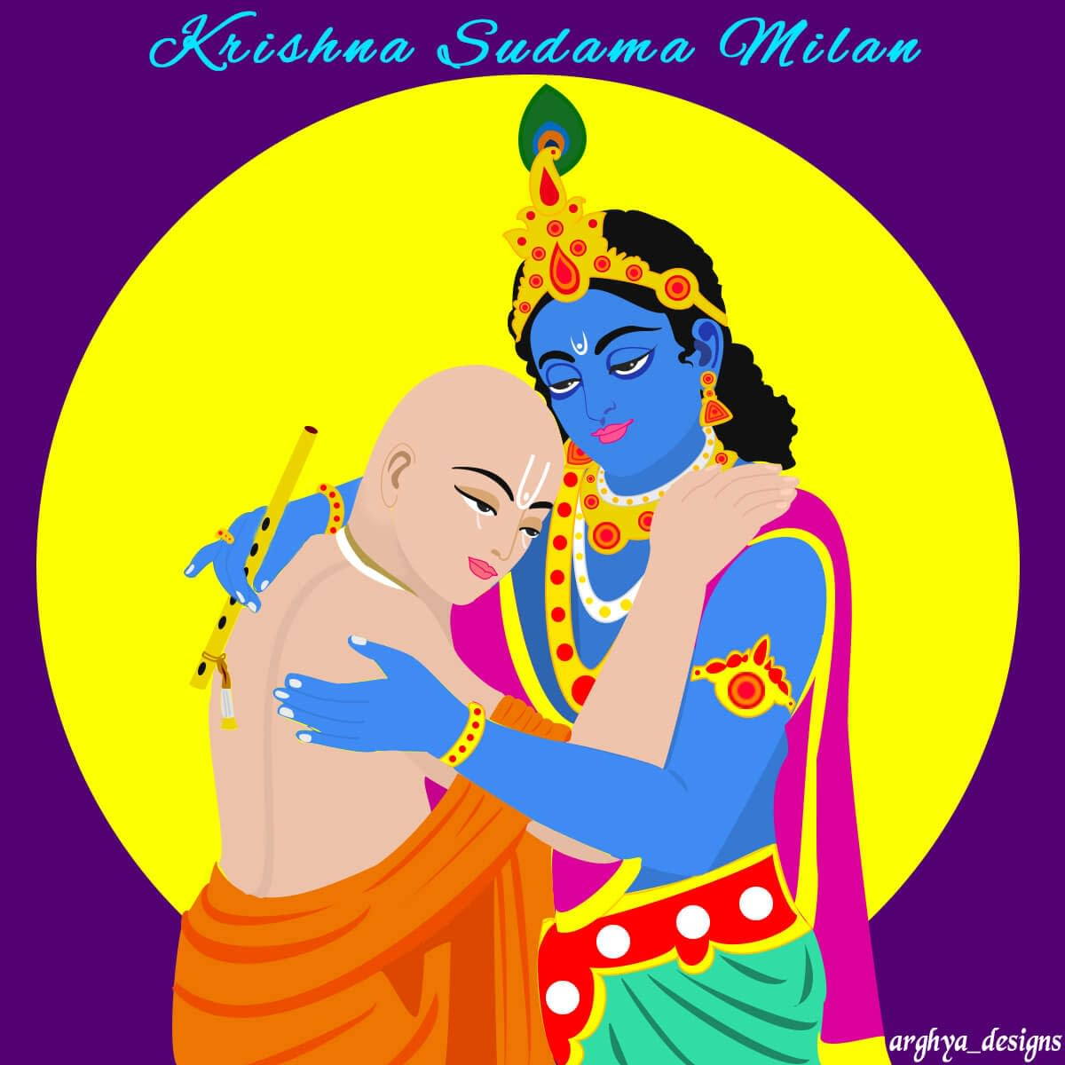 Krishna Sudama Friendship